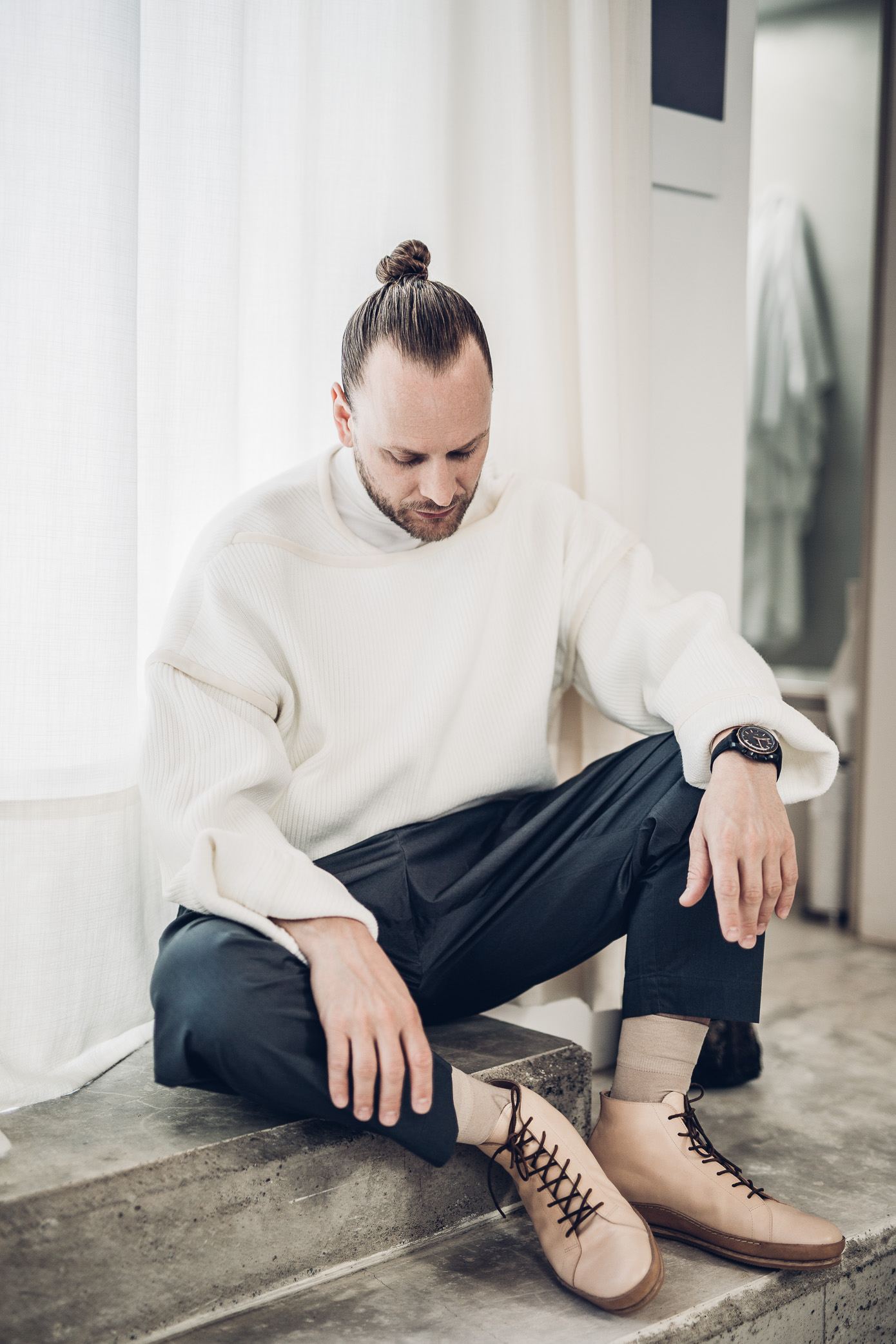 Von Morgen, Handrafted, leather shoes, Marni, chadwick bell