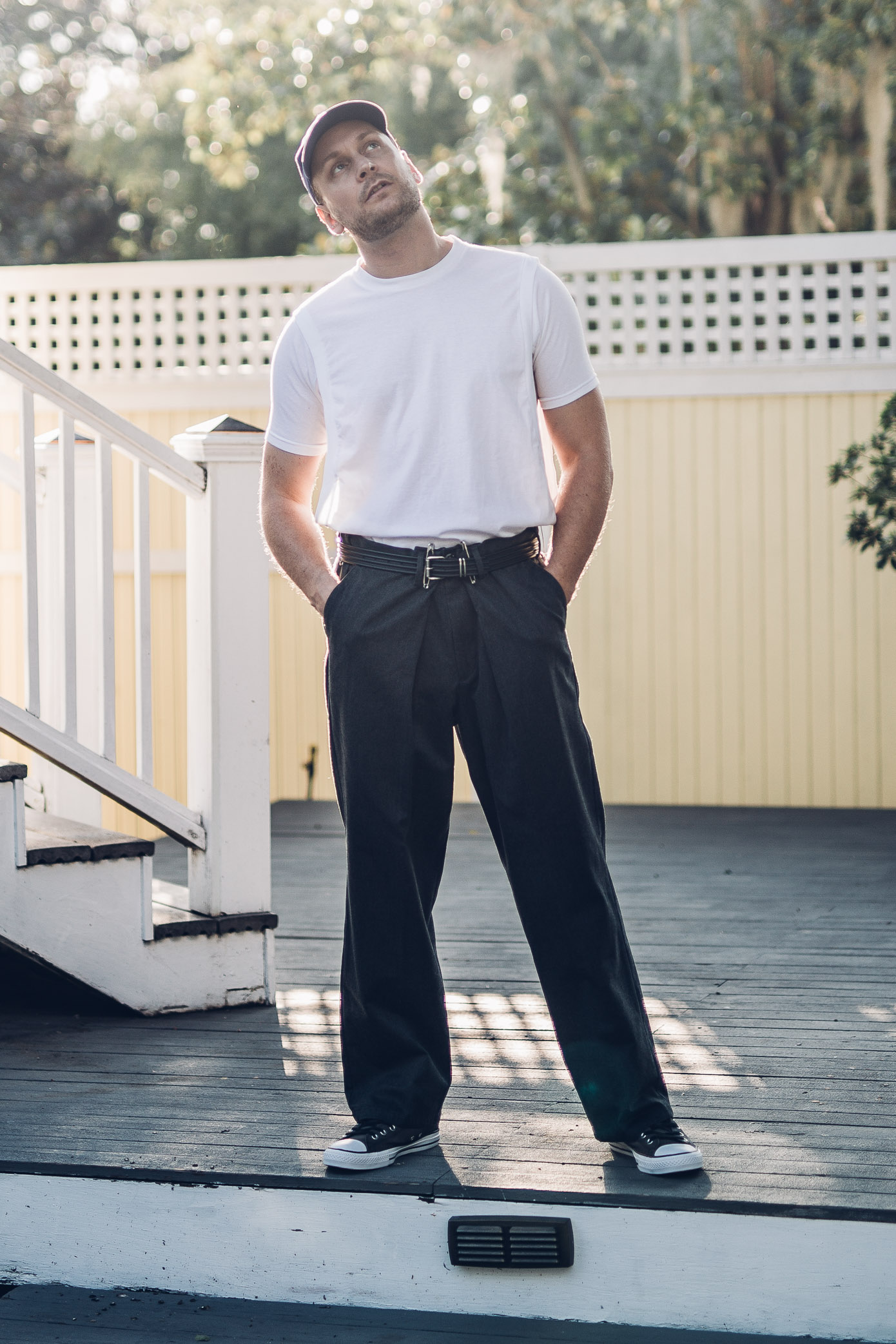 SAVANNAH SUN , editorial, Balenciaga, Y/project, Helmut Lang, Coverse, Dockers
