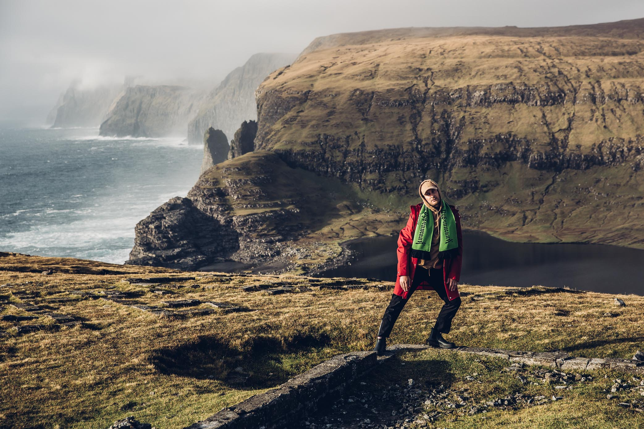 Editorial, Faroe Islands, Hunter Boots, Gosha Rubchinskiy, New Era, Levis
